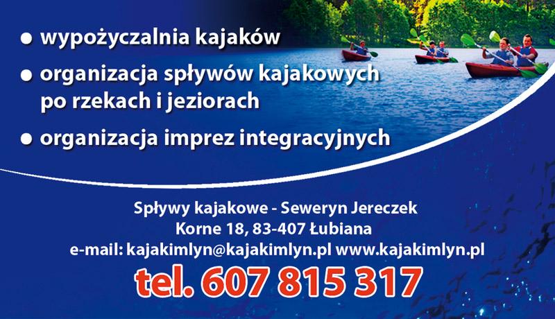Spływ Kajakowy Korne Kajaki Młyn
